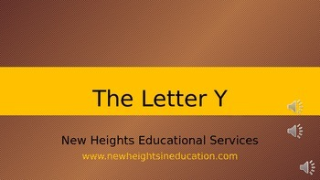 The Letter Y (vowel)