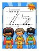 Alphabet Worksheets for the Letter Z