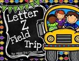 The Letter Z Field Trip!