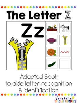 The Letter Z Interactive Book