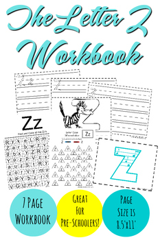 The Letter Z Workbook