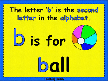 The Letter 'b'