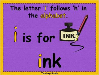 The Letter 'i'