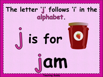 The Letter 'j'
