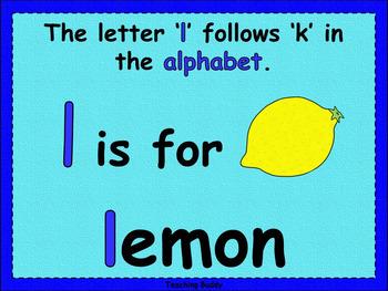 The Letter 'l'