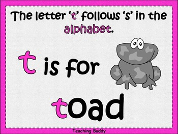 The Letter 't'