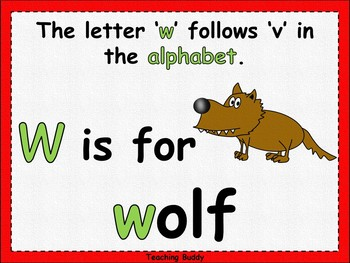 The Letter 'w'