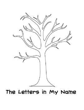 The Letters In My Name (Fall Theme)