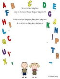 The Letters are Falling Down Consonant and Vowel Poem/Song