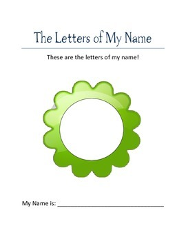 The Letters of My Name - Sarah