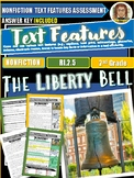 The Liberty Bell |Text Features Reading Comprehension| Social Studies
