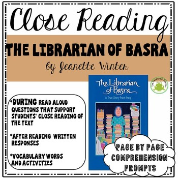 Engage NY Module 1 -The Librarian of Basra - Close Reading and Vocabulary Pack
