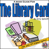 The Library Card, by Jerry Spinelli: A PDF Book Club Guide & Key