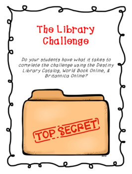 The Library Challenge Game