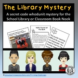 Whodunit Mystery activity : The Library Mystery