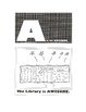 The Library Skills A - Z Coloring Book For Libraries & Media Centers - PDF Ed