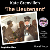 The Lieutenant-Kate Grenville Teacher Text Guide and Worksheets
