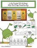 Frog Activities: The Life Cycle Of A Frog Flip The Flap Craft