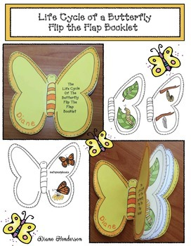Butterfly Activities Life Cycle Of A Butterfly Booklet Craft By