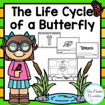 The Life Cycle of a Butterfly {printable mini book, worksheets, & cards}