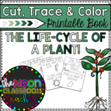 The Life-Cycle of a Plant! Cut, Trace & Color Printable Book!