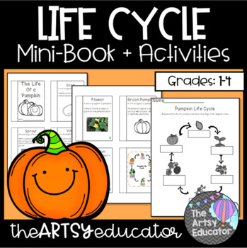 The Life (Cycle) of a Pumpkin Mini Book and Graphic Organizers!