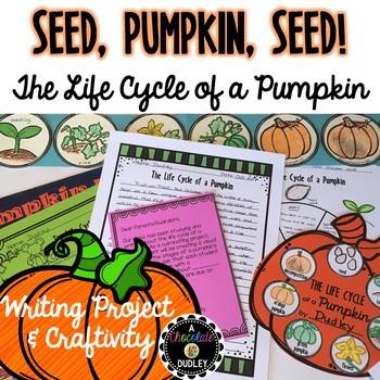Pumpkin Life Cycle Writing & Craftivity