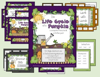 The Life Cycle of a Pumpkin - Reading Street, 2nd Grade, 2013