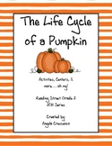 The Life Cycle of a Pumpkin Reading Street Grade 2 2011 & 2013 Series