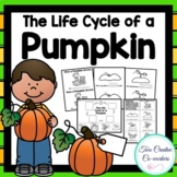 Life Cycle of a Pumpkin {printable mini book, worksheets, & cards}