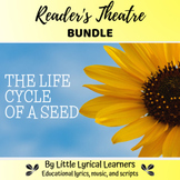 The Life Cycle of a Seed BUNDLE; Leveled Scripts and Vocabulary Cards