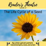 The Life Cycle of a Sunflower Seed to Plant, Reader's Theater Script; Level 2