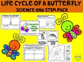 The Life Cycle of the Butterfly Science Pack
