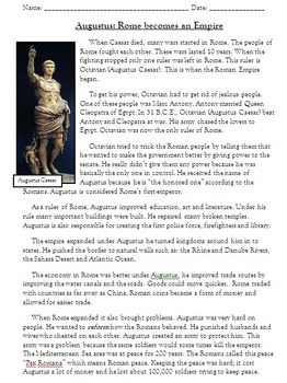 The Life, Death and Effect of Julius Caesar in Ancient Rome