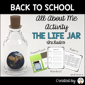 The Life Jar - A Back to School Multimedia Activity