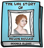 The Life Story of Helen Keller Digital Research Project in Google Slides™