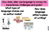 The Life You Imagine Language Analysis- Codex 6th Grade Unit 2: Live Your Dream