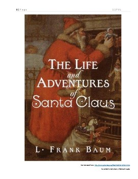The Life and Adventures of Santa Claus Book