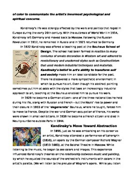 The Life and Art of Kandinsky