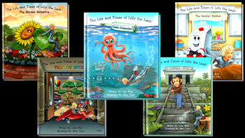 The Life and Times of Lilly the Lash: Ocean Commotion Book Trailer DOWNLOAD