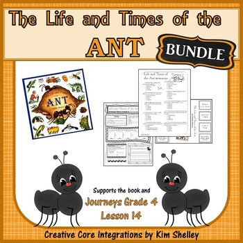 The life and times of an ant teaching resources teachers pay teachers the life and times of the ant journeys 14 bundle fandeluxe Gallery