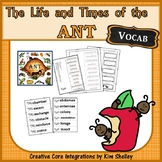 The Life and Times of The Ant VOCABULARY