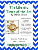 The Life and Times of the Ant Activities 4th Grade Journeys Unit 3, Lesson 14