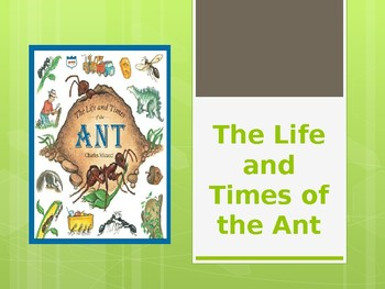 The Life and Times of the Ant: Journey's Lesson 14