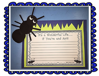 The Life and Times of the Ant  Journeys Unit 3 Lesson 14 4th Grade Suppl Act.