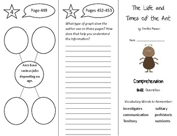The Life and Times of the Ant Trifold - Treasures 4th Grade Unit 4 Week 2 (2011)