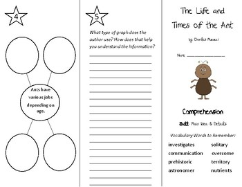 The Life and Times of the Ant Trifold - Treasures 4th Grade Unit 6 Week 5 (2009)