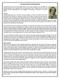 The Life and Work of Charlotte Bronte - Reading Comprehension