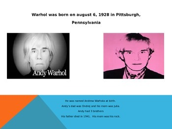 The Life of Andrew Warhol - Life & Art