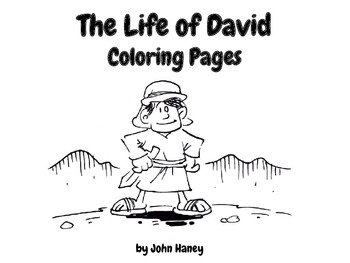 The Life of David Coloring Pages